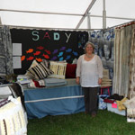 Sarah at the Craft Fair